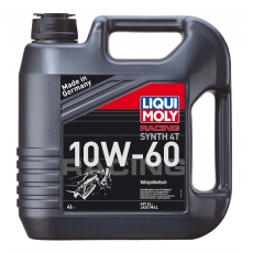 Масло LIQUI-MOLY Racing Synth 4T 10W-60 синтетика 4L API-SL, JASO MA-2 LM1687