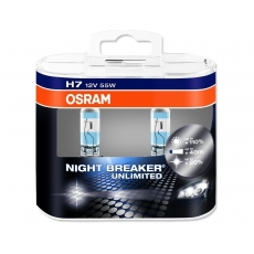 Лампа накаливания OSRAM H4 12V-60/55W (P43t) Night Breaker Unlimited 64193NBU-HCB